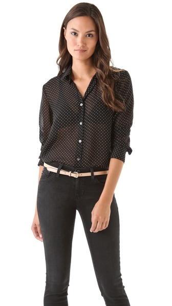 Velvet Zhi Mini Dot Shirt