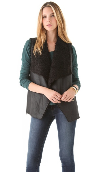 Velvet Mavis Urban Sherpa Vest
