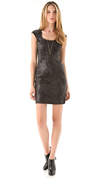Velvet Wiley Faux Leather Dress
