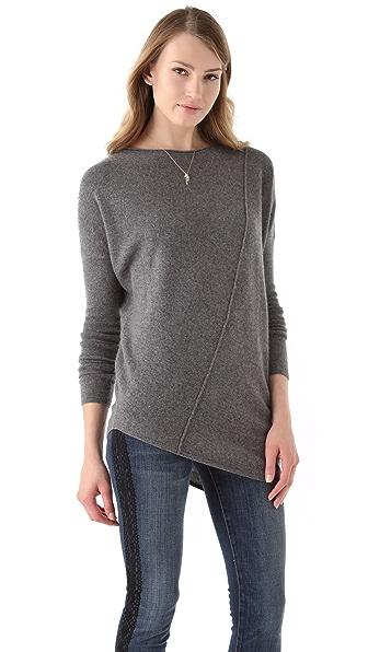 Velvet Cherry Cashmere Sweater