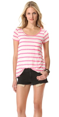 Velvet Millicento Striped Tee
