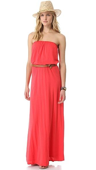 Velvet Freida Strapless Maxi Dress