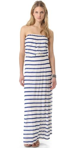 Velvet Bria Striped Maxi Dress