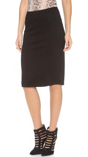 Velvet Ponte Classic Skirt
