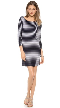 Velvet Yennie Striped Dress