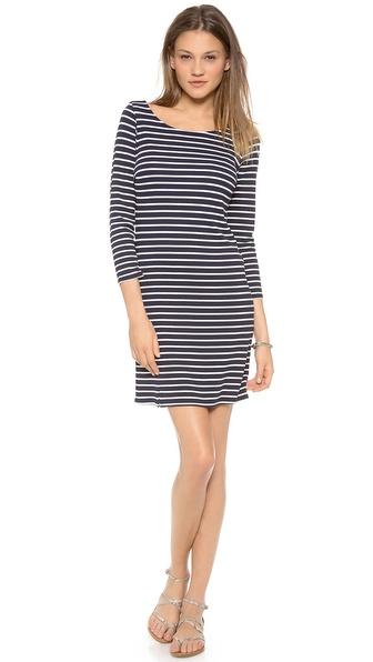 Velvet Yennie Striped Dress
