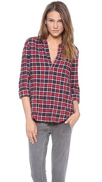 Velvet Venise Plaid Shirt