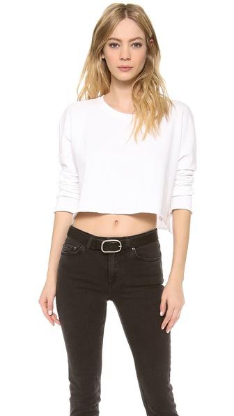Velvet Vintage Shrunken Sweatshirt