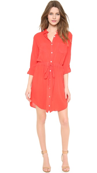 Velvet Lily Aldridge for Velvet Jessie Shirtdress