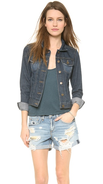 Velvet Lily Aldridge for Velvet Denim Jacket