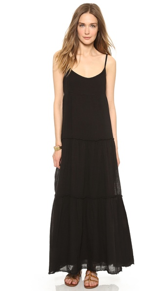 Velvet Delize Tiered Maxi Dress