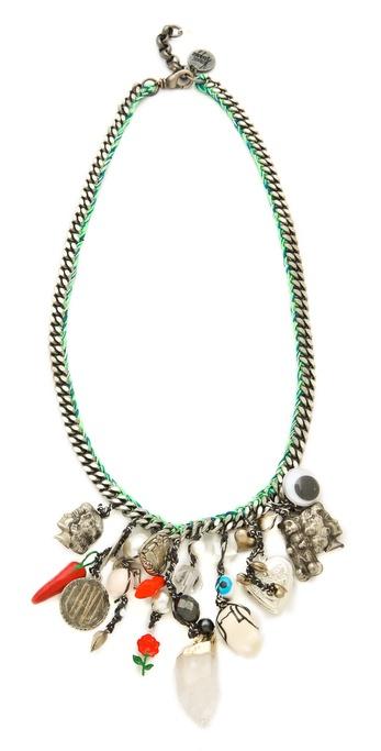 Venessa Arizaga Glowing Heart Necklace