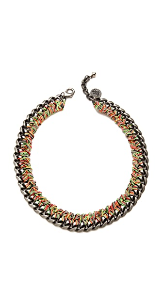 Venessa Arizaga Rainbow Necklace