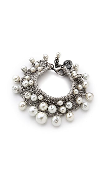 Venessa Arizaga Pearly Sands Bracelet