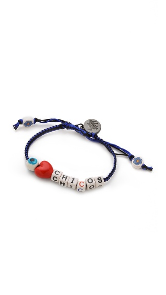 Venessa Arizaga Love Chicos Bracelet