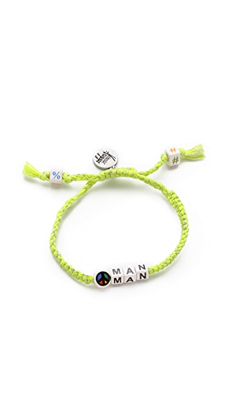 Venessa Arizaga Peace Man Bracelet