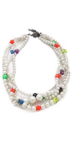 Venessa Arizaga Heart of Glass Necklace