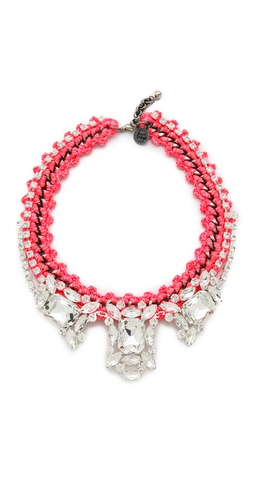 Venessa Arizaga Pink Panther Necklace
