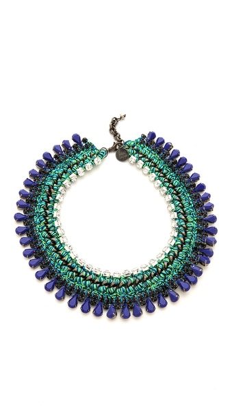 Venessa Arizaga Little Girl Blue Necklace