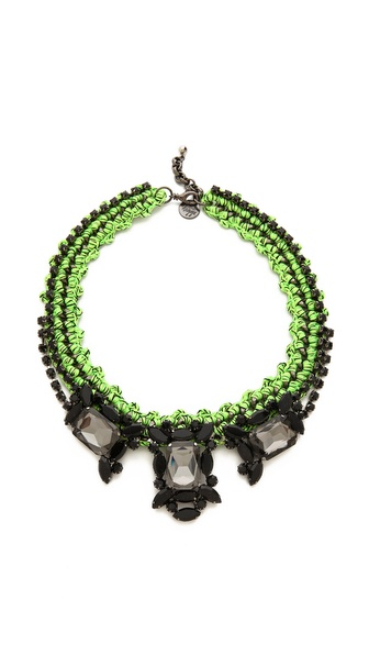 Venessa Arizaga Apple Martini Necklace