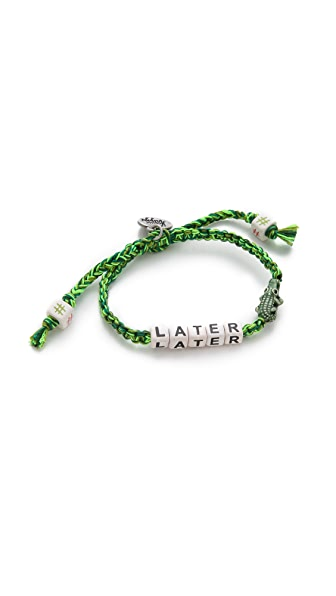 Venessa Arizaga Later Gator Bracelet