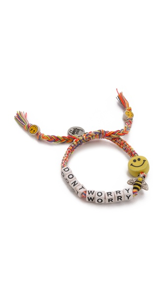 Venessa Arizaga Don't Worry Bee Happy Bracelet