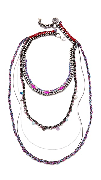 Venessa Arizaga Saturn Day Necklace