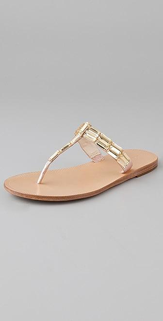 Vera Wang Rox Flat Thong Sandals