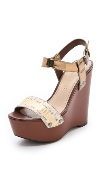 Vera Wang Jamaya Platform Wedges