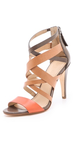 Shop Vera Wang Hinda Strappy Sandals - Vera Wang online - Footwear,Womens,Footwear,Sandals, at Lilychic Australian Clothes Online Store