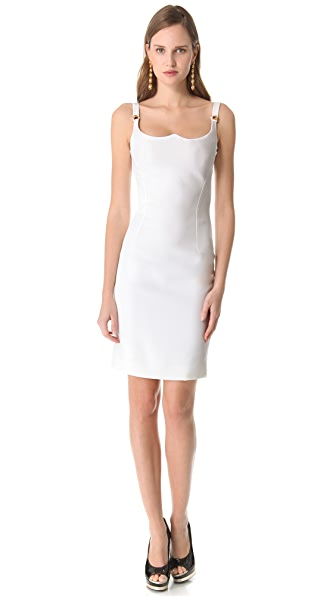 Versace Sleeveless Shaped Dress