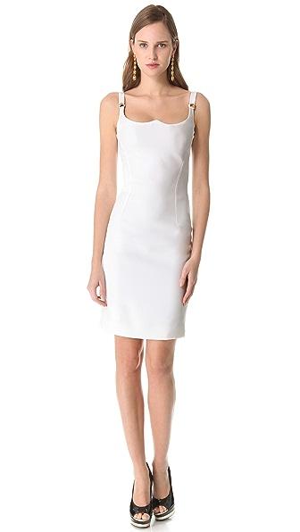 Versace Sleeveless Shaped Dress