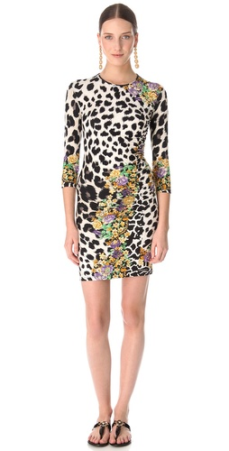 Versace Animal Print Dress