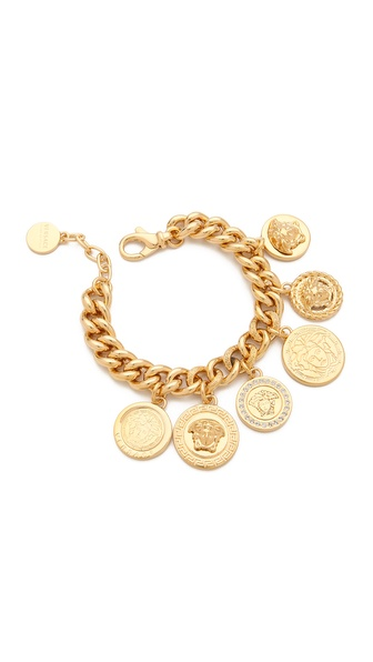 Versace Medusa Coin Bracelet