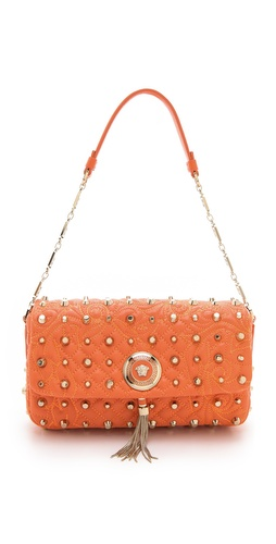 Versace Vanitas Bag with Studs