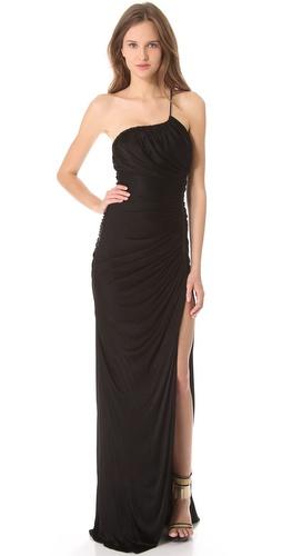 Versace Asymmetrical Gown