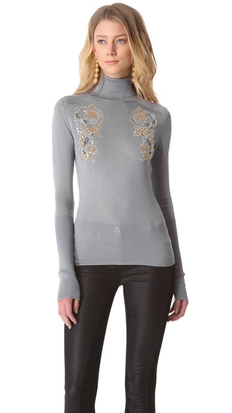 Versace Long Sleeve Sweater