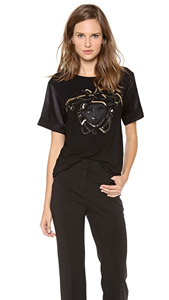 Versace Short Sleeve Top