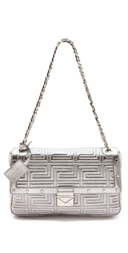 Versace Quilted Chain Shoulder Bag at Shopbop / East Dane
