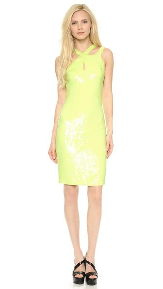 Versace Sleeveless Dress - Acacia