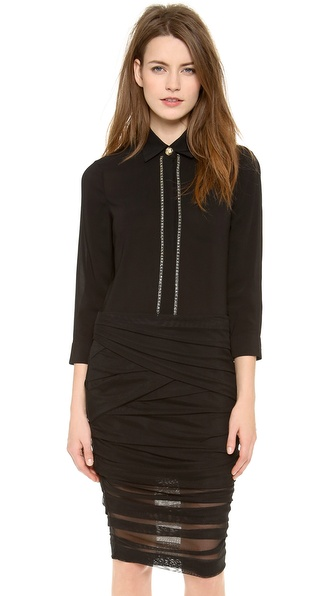 Versace Long Sleeve Blouse