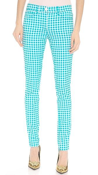 Versace Printed Skinny Pants