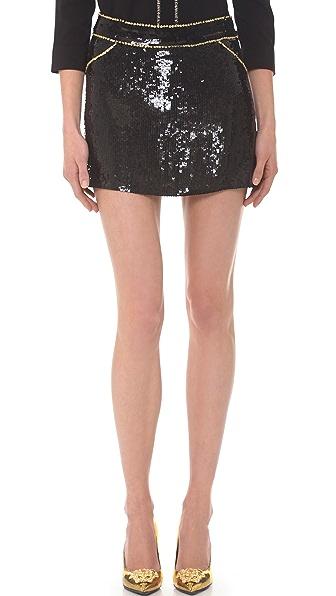 Versace Sequin Skirt