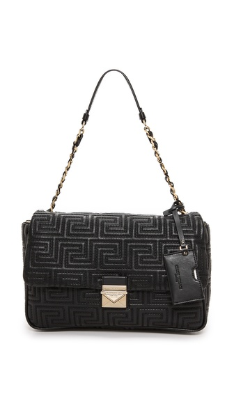 Versace Leather Shoulder Bag