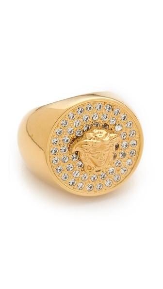 Versace Medusa Ring