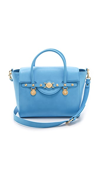 Versace Leather Satchel