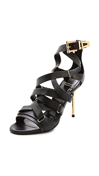 Versace Strappy Heel Sandals