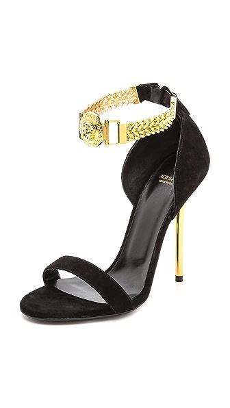 Versace Chain Strap Sandals