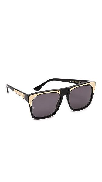 Vintage Frames Company Rude Metal Sunglasses