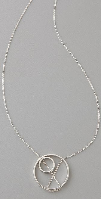 Vanessa Gade Jewelry Inner Circle XO Necklace